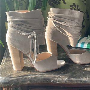 Kristin Cavallari Chinese laundry open toe booties